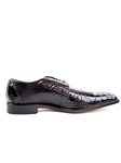 Belvedere Black Siena Genuine Ostrich Leather Shoes 1463-Black - Spring and Summer 2014 Shoes | Sam's Tailoring Fine Men's Clothing