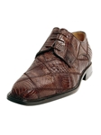 Belvedere Shoes: Brown Mario P18B-BRN |  SamsTailoring  |  Sam's Fine Men's Clothing