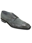 Belvedere Gray Pergola Genuine Crocodile and Suede Leather Shoes 1452 - Fall 2014 Shoe Collection | Sam's Tailoring Fine Men's Clothing
