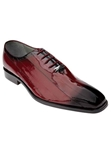 Belvedere Antique Scarlet Red Stella Genuine Eel Skin Shoes 1470-AntiqueScarletRed - Spring and Summer 2014 Shoes | Sam's Tailoring Fine Men's Clothing