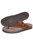 Mephisto Tan Grain Natural Leather Sandal NIELS-4442 - Casual Sandals | Sam's Tailoring Fine Men's Clothing