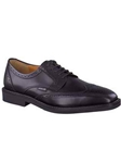Mephisto Black Supreme Paolino Wingtip Dress Oxford Shoes PAOLINO-7300 - Oxfords Men's Shoes | Sam's Tailoring Fine Men's Clothing