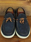 Martin Dingman Navy Henry Leather Shoes 532252M - Spring and Summer 2014 Footwear | Sam's Tailoring Fine Men's Clothing