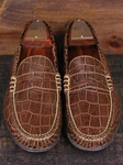 Martin Dingman Old Rust Bill Vintage Alligator Grain Leather Shoes 500010M - Spring and Summer 2014 Footwear | Sam's Tailoring Fine Men's Clothing