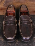 Martin Dingman Walnut Latigo Bill Leather Shoes 532219M - Spring and Summer 2014 Footwear | Sam's Tailoring Fine Men's Clothing