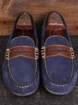 Martin Dingman Purple Bill Leather Shoes 532210M - Spring and Summer 2014 Footwear | Sam's Tailoring Fine Men's Clothing