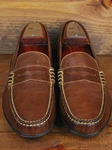 Martin Dingman Brown Bill Leather Shoes 532230M - Spring and Summer 2014 Footwear | Sam's Tailoring Fine Men's Clothing