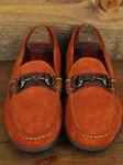 Martin Dingman Persimmon Bill Horse Bit Leather Shoes 532273M - Spring and Summer 2014 Footwear | Sam's Tailoring Fine Men's Clothing
