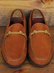 Martin Dingman Burnt Orange Callahan Leather Shoes 300073M - Spring and Summer 2014 Footwear | Sam's Tailoring Fine Men's Clothing