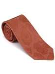 Robert Talbott Brown Orange with Paisley Design Time Square Best Of Class Tie 56421E0-01 - Fall 2014 Collection Best Of Class Ties | Sam's Tailoring Fine Men's Clothing