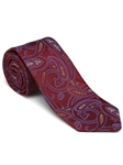 Robert Talbott Red Brown with Paisley Design Picadilly Circus Best Of Class Tie 56098E0-01 - Fall 2014 Collection Best Of Class Ties | Sam's Tailoring Fine Men's Clothing