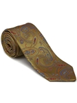 Robert Talbott Brass with Paisley Design Picadilly Circus Best Of Class Tie 56098E0-04 - Fall 2014 Collection Best Of Class Ties | Sam's Tailoring Fine Men's Clothing