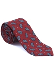 Robert Talbott Brown Red Amalfi Best Of Class Tie 59123E0-05 - Fall 2014 Collection Best Of Class Ties | Sam's Tailoring Fine Men's Clothing