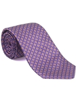 Robert Talbott Purple with Diamond Design Best Of Class Tie 53792E0-01 - Fall 2014 Collection Best Of Class Ties | Sam's Tailoring Fine Men's Clothing