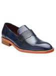 Belvedere Antique Navy Bruno Genuine Alligator and Italian Calf Skin Leather Shoes D84 - Fall 2014 Shoe Collection | Sam's Tailoring Fine Men's Clothing