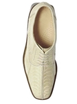 Belvedere Ivory Marco Genuine Ostrich Leather Shoes 714 - Fall 2014 Shoe Collection | Sam's Tailoring Fine Men's Clothing