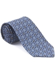 Robert Talbott Blue Hearst Castle Seven Fold Tie 51877M0-04 - Fall 2014 Collection Ties and Neckwear | Sam's Tailoring Fine Men's Clothing