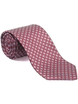 Robert Talbott Red with Diamond Design Best Of Class Tie 53792E0-05 - Fall 2014 Collection Best Of Class Ties | Sam's Tailoring Fine Men's Clothing