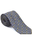 Robert Talbott Yellow with Floral Design Romantic Tapestry Seven Fold Tie 51739M0-04 - Fall 2014 Collection Ties and Neckwear | Sam's Tailoring Fine Men's Clothing