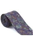 Robert Talbott Lavender with Botanical Design Arcimboldo Jacquard Seven Fold Tie 51741M0-03 - Fall 2014 Collection Ties and Neckwear | Sam's Tailoring Fine Men's Clothing