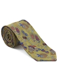Robert Talbott Yellow with Botanical Design Arcimboldo Jacquard Seven Fold Tie 51741M0-04 - Fall 2014 Collection Ties and Neckwear | Sam's Tailoring Fine Men's Clothing