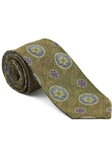 Robert Talbott Yellow with Floral Medallion Design Arcimboldo Jacquard Seven Fold Tie 51742M0-01 - Fall 2014 Collection Ties and Neckwear | Sam's Tailoring Fine Men's Clothing