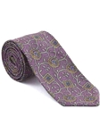 Robert Talbott Pink with Exquisite Medallion Floral Design Arcimboldo Jacquard Seven Fold Tie 51743M0-01 - Fall 2014 Collection Ties and Neckwear | Sam's Tailoring Fine Men's Clothing