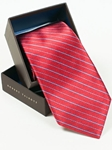 Robert Talbott Red with Stripes Best Of Class Tie SAM-5463 - Spring 2015 Collection Best Of Class Ties | Sam's Tailoring Fine Men's Clothing