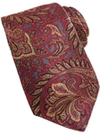 Robert Talbott Gray with Gold and Beet Woven Paisley Design Estate Tie SAMSTAILORING-NM1007 - Holiday 2014 Collection Estate Ties | Sam's Tailoring Fine Men's Clothing