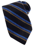 Robert Talbott Black Cashmere Stripe Estate Tie SAMSTAILORING-NM1014 - Holiday 2014 Collection Estate Ties | Sam's Tailoring Fine Men's Clothing