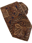 Robert Talbott Navy with Rust Woven Paisley Design Estate Tie SAMSTAILORING-NM1019 - Holiday 2014 Collection Estate Ties | Sam's Tailoring Fine Men's Clothing