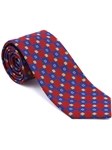 Robert Talbott Red Geometric Amalfi Silk Best Of Class Tie 59121E0-02 - Spring 2015 Collection Best Of Class Ties | Sam's Tailoring Fine Men's Clothing