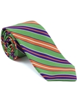 Robert Talbott Green Stripe Seasonal Classic Silk Best Of Class Tie 57885E0-01 - Spring 2015 Collection Best Of Class Ties | Sam's Tailoring Fine Men's Clothing