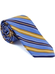 Robert Talbott Sky Stripe Seasonal Classic Silk Best Of Class Tie 57885E0-02 - Spring 2015 Collection Best Of Class Ties | Sam's Tailoring Fine Men's Clothing