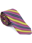 Robert Talbott Rose Stripe Seasonal Classic Silk Best Of Class Tie 57885E0-06 - Spring 2015 Collection Best Of Class Ties | Sam's Tailoring Fine Men's Clothing