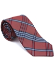 Robert Talbott Red Plaid Check Design Seasonal Classic Silk Best Of Class Tie 57895E0-01 - Spring 2015 Collection Best Of Class Ties | Sam's Tailoring Fine Men's Clothing