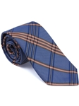 Robert Talbott Blue Plaid Check Design Seasonal Classic Silk Best Of Class Tie 57895E0-02 - Spring 2015 Collection Best Of Class Ties | Sam's Tailoring Fine Men's Clothing