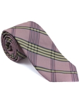 Robert Talbott Pink Plaid Check Design Seasonal Classic Silk Best Of Class Tie 57895E0-06 - Spring 2015 Collection Best Of Class Ties | Sam's Tailoring Fine Men's Clothing