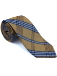 Robert Talbott Yellow Brown Plaid Check Design Seasonal Classic Silk Best Of Class Tie 57895E0-03 - Spring 2015 Collection Best Of Class Ties | Sam's Tailoring Fine Men's Clothing