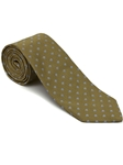 Robert Talbott Green Gem Asparagus with Gray Dots Time Square Best Of Class Tie 56424E0-03 - Spring 2015 Collection Best Of Class Ties | Sam's Tailoring Fine Men's Clothing