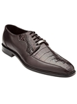 Belvedere Brown Gennaro Genuine Crocodile and Italian Calf Leather Shoes 1486 - Fall 2015 Collection Shoes | Sam's Tailoring Fine Men's Clothing