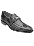 Belvedere Black Mercuri Genuine Crocodile Leather Shoes 1483 - Fall 2015 Collection Shoes | Sam's Tailoring Fine Men's Clothing