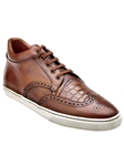 Belvedere Tan Adriano Genuine Alligator And Soft Antique Italian Calf Leather Casual Sneakers M25 - Fall 2015 Collection Shoes | Sam's Tailoring Fine Men's Clothing
