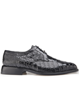 Belvedere Black Susa Genuine Crocodile Shoes P32 - Fall 2015 Collection Shoes | Sam's Tailoring Fine Men's Clothing