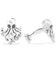Robert Talbott Silver Octopus Cuff Link LC1305-01 - Fall 2015 Collection Cuff Links | Sam's Tailoring Fine Men's Clothing