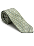 Robert Talbott Asparagus Green with Geometric Design Stillwater Cove Estate Tie 43852I0-04 - Fall 2015 Collection Estate Ties | Sam's Tailoring Fine Men's Clothing