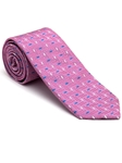 Robert Talbott Pink with Geometric Design Stillwater Cove Estate Tie 43854I0-01 - Fall 2015 Collection Estate Ties | Sam's Tailoring Fine Men's Clothing