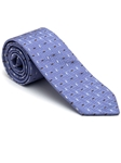 Robert Talbott Purple with Geometric Design Stillwater Cove Estate Tie 43854I0-02 - Fall 2015 Collection Estate Ties | Sam's Tailoring Fine Men's Clothing