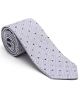 Robert Talbott Grape and White with Dots Peninsula Estate Tie 43858I0-01 - Fall 2015 Collection Estate Ties | Sam's Tailoring Fine Men's Clothing