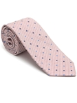Robert Talbott Burgundy and White with Dots Peninsula Estate Tie 43858I0-04 - Fall 2015 Collection Estate Ties | Sam's Tailoring Fine Men's Clothing